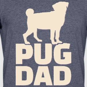 Pug Dad - Men's 50/50 T-Shirt