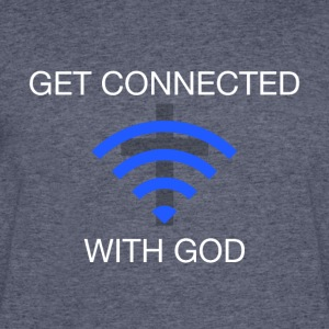 Get connected with God 2 - Men's 50/50 T-Shirt