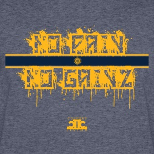 No Pain No Gainz Yellow - Men's 50/50 T-Shirt