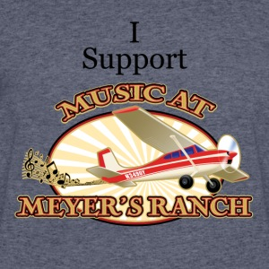 I Support - Music at Meyer's Ranch - Men's 50/50 T-Shirt