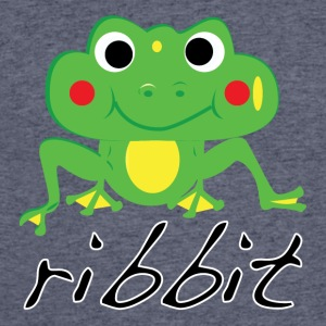 Funny ribbit frog product. - Men's 50/50 T-Shirt