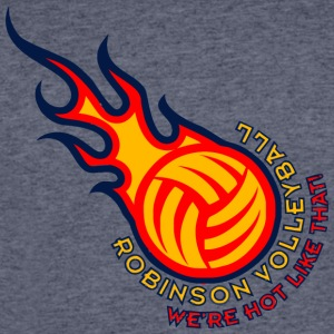 ROBINSON VOLLEYBALL WE RE HOT LIKE THAT - Men's 50/50 T-Shirt