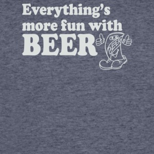 Everything s More Fun With Beer - Men's 50/50 T-Shirt