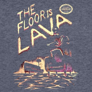 The Floor is Lava - Men's 50/50 T-Shirt