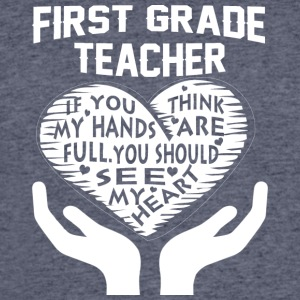 First Grade Teacher T Shirt - Men's 50/50 T-Shirt