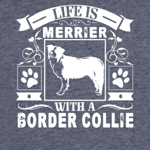 Life Is Better With A Border Collie Shirt - Men's 50/50 T-Shirt