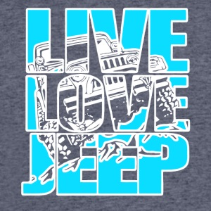 Live Love Jeep T Shirt - Men's 50/50 T-Shirt