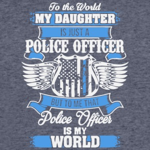My Daughter Is Just A Police Officer T Shirt - Men's 50/50 T-Shirt
