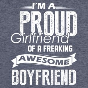Proud Girlfriend Of A Awesome Boyfriend Shirt - Men's 50/50 T-Shirt