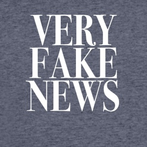 Very Fake News Trump Tee Shirt - Men's 50/50 T-Shirt