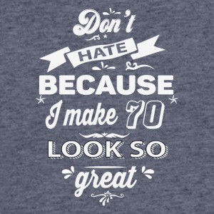 70th birthday designs - Men's 50/50 T-Shirt