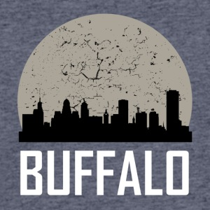 Buffalo Full Moon Skyline - Men's 50/50 T-Shirt
