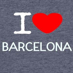 I LOVE BARCELONA - Men's 50/50 T-Shirt