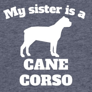 My Sister Is A Cane Corso - Men's 50/50 T-Shirt