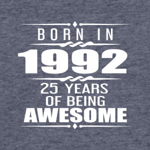Born in 1992 25 Years of Being Awesome - Men's 50/50 T-Shirt