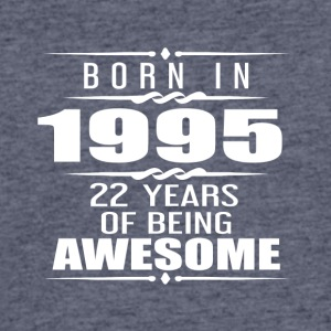 Born in 1955 22 Years of Being Awesome - Men's 50/50 T-Shirt
