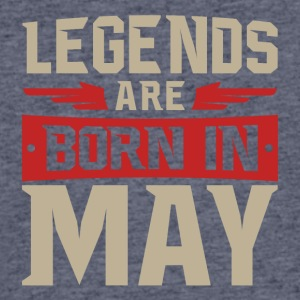 Legends Are Born in May - Men's 50/50 T-Shirt