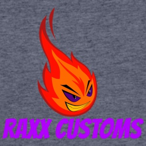 Fire RAXX CUSTOMS logo orange and purple - Men's 50/50 T-Shirt