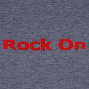 Rock On RED - Men's 50/50 T-Shirt