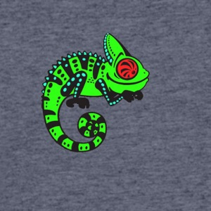 Neon Lizard - Men's 50/50 T-Shirt