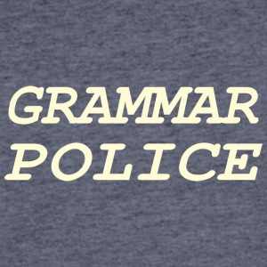 Grammer Police - Men's 50/50 T-Shirt