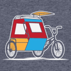 Philippines Padyak Tricycle - Men's 50/50 T-Shirt