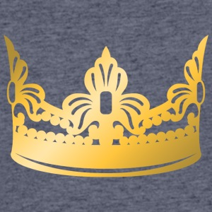 king-vip-golden-crown-roya-gold-boss-logo-vector - Men's 50/50 T-Shirt