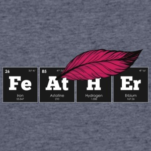Periodic Elements: FeAtHEr - Men's 50/50 T-Shirt