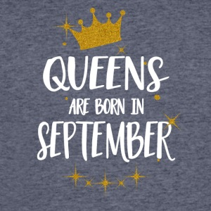 QUEENS ARE BORN IN SEPTEMBER - Men's 50/50 T-Shirt