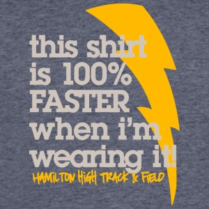 This shirt is 100 FASTER when I m wearing it Ham - Men's 50/50 T-Shirt