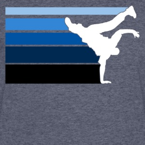 B BOY blue gradient pattern - Men's 50/50 T-Shirt