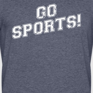 GO SPORTS! Move The Thing Win The Points - Men's 50/50 T-Shirt