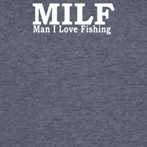 MILF MAN I LOVE FISHING - Men's 50/50 T-Shirt