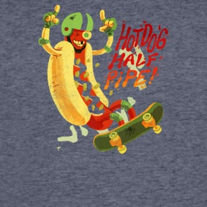 Hot Dog Halfpipe - Men's 50/50 T-Shirt