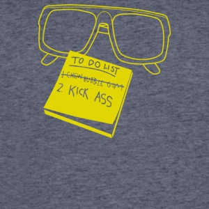 Chew Gum Kick Ass - Men's 50/50 T-Shirt