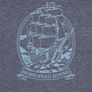Homeward Bound Ship - Men's 50/50 T-Shirt