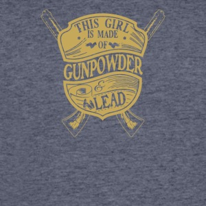 This girl is made of gun powder and lead - Men's 50/50 T-Shirt
