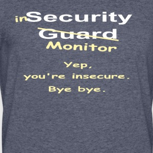 Insecurity Monitor 1 - Men's 50/50 T-Shirt