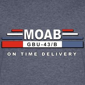 MOAB- Mother Of All Bomb - Men's 50/50 T-Shirt