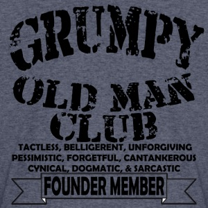 Grumpy Old Man - Men's 50/50 T-Shirt