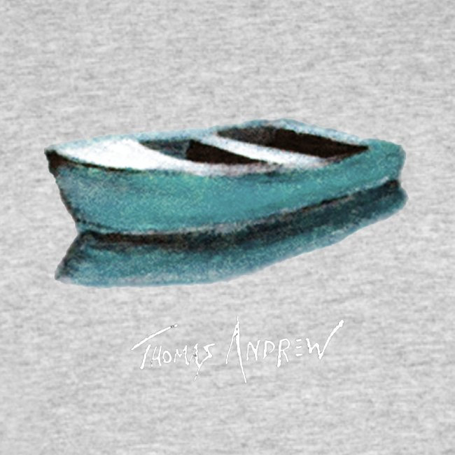 Blue Boat Tshirt design7P
