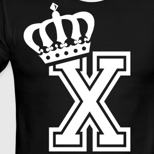 Name: Letter X Character X Case X Alphabetical X - Men's Ringer T-Shirt