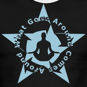 YOGA KARMA - Men's Ringer T-Shirt