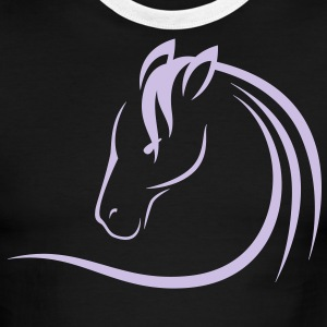 HORSE HEAD - Men's Ringer T-Shirt