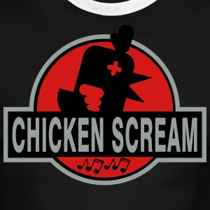 CHICKEN CREAM PARK - Men's Ringer T-Shirt