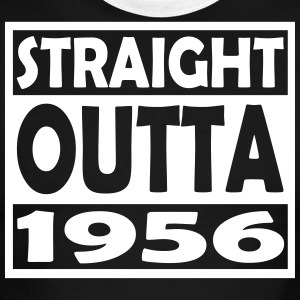 61st Birthday T Shirt Straight Outta 1956 - Men's Ringer T-Shirt