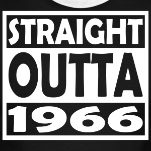 51st Birthday T Shirt Straight Outta 1966 - Men's Ringer T-Shirt
