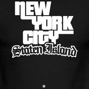 NYC: Staten Island - Men's Ringer T-Shirt