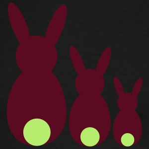 three easter rabbits - Men's Ringer T-Shirt