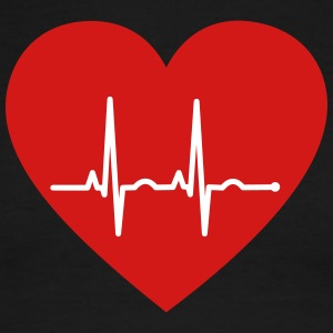 EKG Heart - Men's Ringer T-Shirt